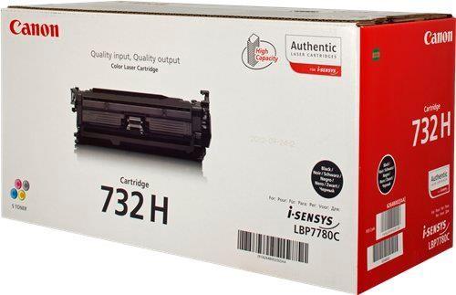 Toner Original pentru Canon Negru CRG-732HB, compatibil LBP7780C, 12000pag  [0]