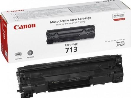 Toner Original pentru Canon Negru CRG-713, compatibil LBP3010/3100, 2000pag  [0]