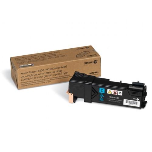 Toner Original pentru Xerox Cyan, compatibil Phaser 6500/6505, 2500pag  0