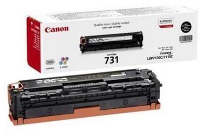 Toner Original pentru Canon Negru CRG-731B, compatibil LBP7100C/7110C, 1400pag  [0]