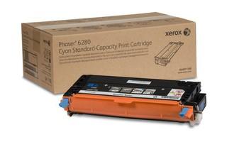 Toner Original pentru Xerox Cyan, compatibil Phaser 6280, 2200pag  0