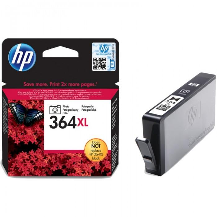 Cartus cerneala Original HP Black Photo 364XL w.Vivera ink, compatibil PhotoSmart 7510/C5380/6380/D5460/7560  0