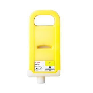Cartus cerneala Original Canon PigmentInk PFI-701Y Yellow, compatibil iPF8X00/iPF8000S/iPF9X00/iPF9000S, 700ml  [0]