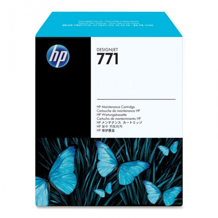 Cartus cerneala Original HP 771, DesignJet Maintenance Cartridge  [0]