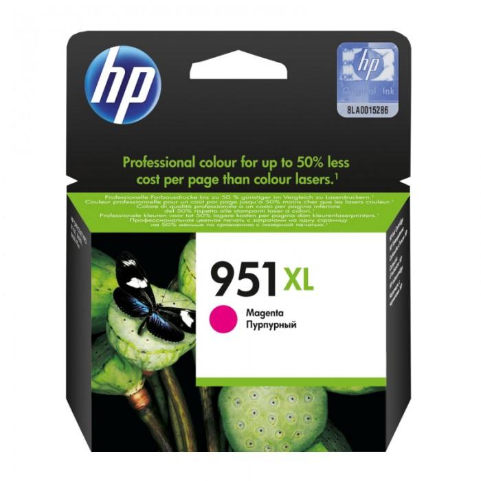 Cartus cerneala Original HP Magenta 951XL, compatibil OfficeJet Pro 251/276/8100/8600, 1500pag  [0]