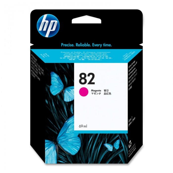 Cartus cerneala Original HP Magenta 82, compatibil DesignJet 500/800, 69ml,  [0]