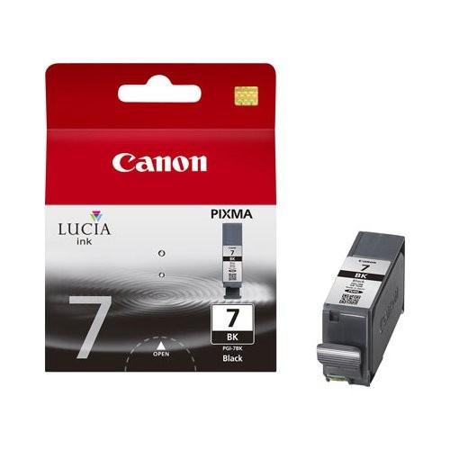 Cartus cerneala Original Canon PGI-7BK Negru, compatibil MX7600  [0]