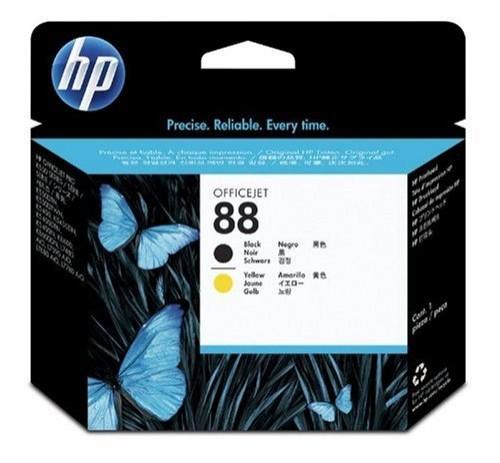 Cartus cerneala Original HP Black+Yellow Printhead 88, compatibil OfficeJet K5300/5400/550/L7xxx/Pro K5300/54xx/550  [0]