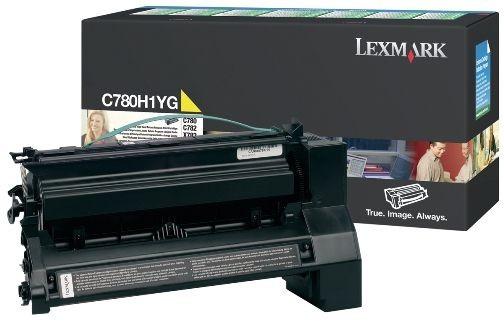 Toner Original pentru Lexmark Yellow, compatibil C780/782/X782, 10000pag  0