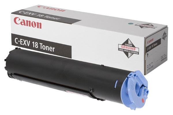 Toner Original pentru Canon Negru C-EXV18, compatibil IR1018/1022, 8400pag  [0]