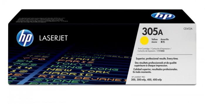 Toner Original pentru HP Yellow 305A, compatibil M351A/M451DN, 2600pag  [0]