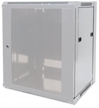 """Cabinet 19""""  fixare pe perete, Flatpack, Intellinet12U, Grey, 635 (h) x 570 (w) x 450 (d) mm  [0]"""