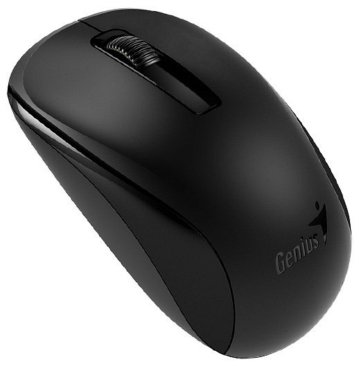 "MOUSE WIRELESS GENIUS  ""NX-7005"", 2.4GHz, Black, BlueEye  0"
