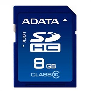 Secure Digital Card SDHC 8GB class10 ADATA  0