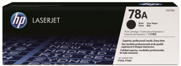 Toner Original pentru HP Negru, compatibil P1566/P1606/M1536, 2100pag  0