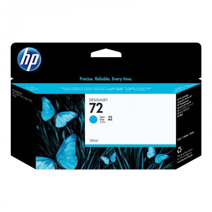 Cartus cerneala Original HP Cyan 72 w.Vivera ink, compatibil DesignJet T1100/1120/1200/1300/2300/T610/620/770/790, 130ml  [0]