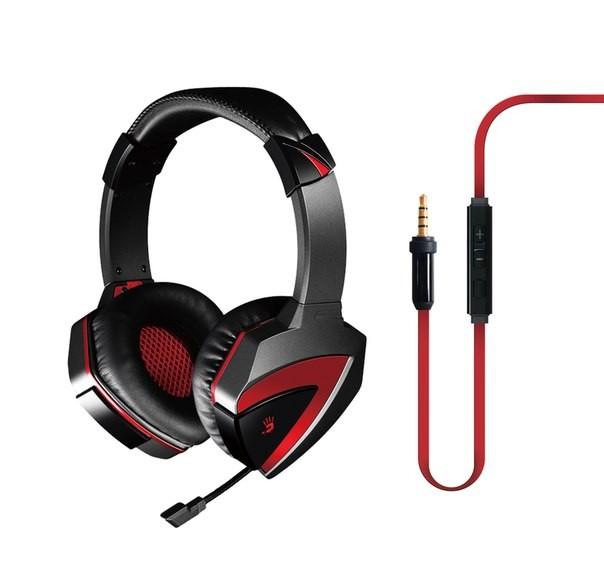 Casca A4TECH  Bloody gaming, microfon pe fir, control volum pe casca  0