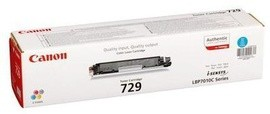 Toner Original pentru Canon Cyan CRG-729C, compatibil LBP7018C, 1000pag  [0]