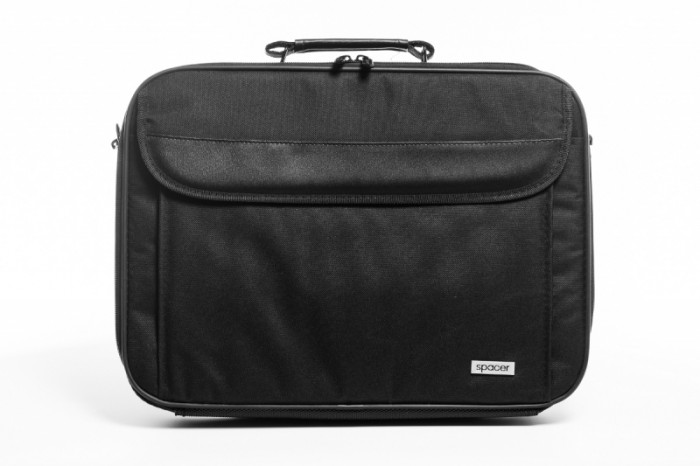 "Geanta Notebook 16"" Spacer Fritz, Black  0"