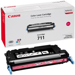 Toner Original pentru Canon Magenta CRG-711M, compatibil LBP5300/5360, 6000pag  0
