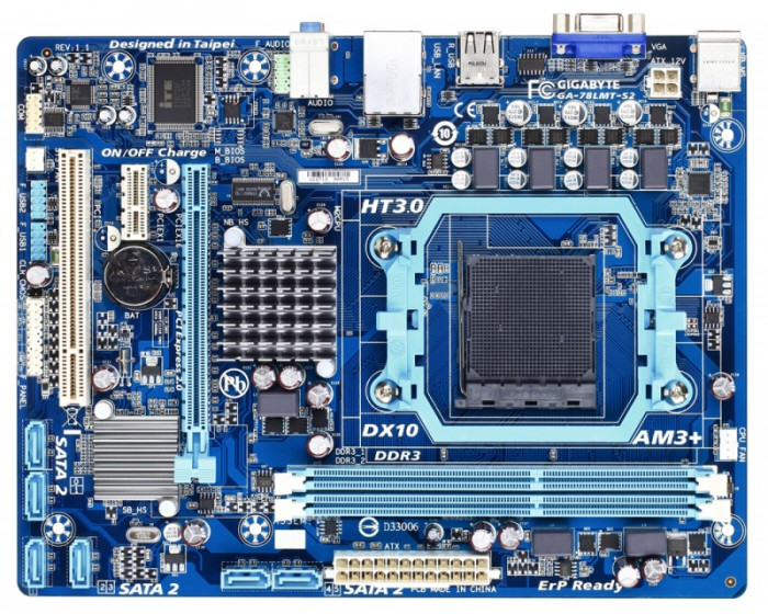 Placa de baza Gigabyte 78LMT-S2 [0]