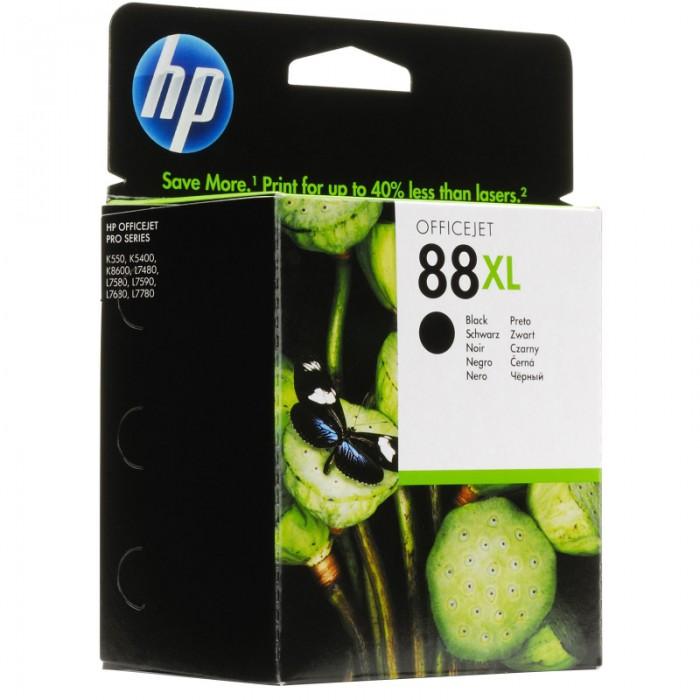 Cartus cerneala Original HP Black 88 w.Vivera ink, compatibil OfficeJet K5300/5400/550/L7xxx/Pro K5300/5400/550, 17ml  0