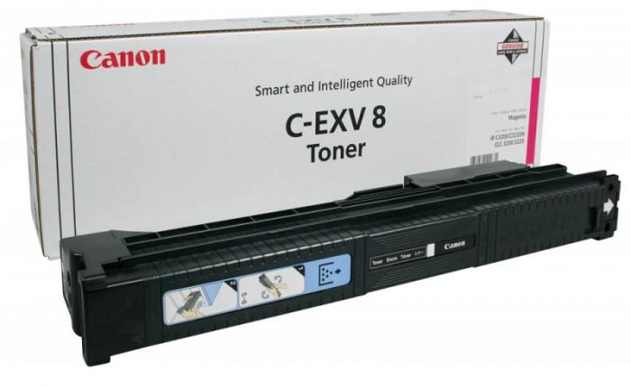 Toner Original pentru Canon Magenta C-EXV8M, compatibil IRC3200, 25000pag  [0]