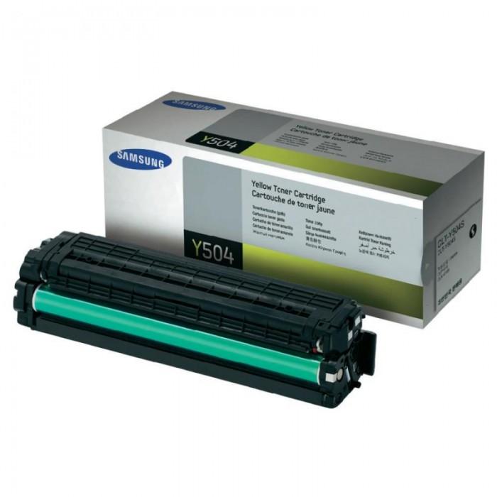 Toner Original pentru Samsung Yellow, compatibil CLP-415/CLX-4195, 1800pag  [0]