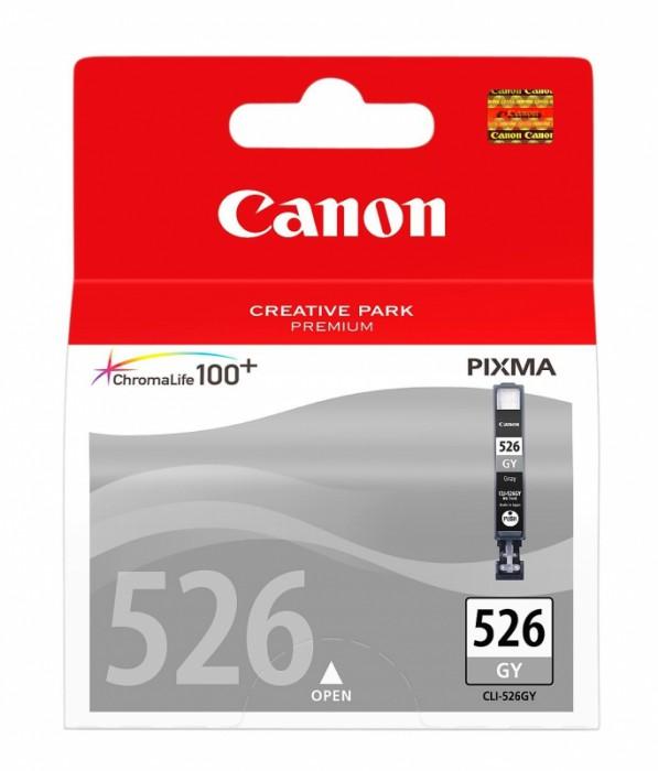 Cartus cerneala Original Canon CLI-526GY Gray, compatibil Canon MG6150/8150  0