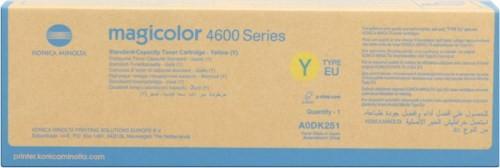 Toner Original pentru Konica-Minolta Yellow, compatibil MC 4650/4690MF, 4000pag  0
