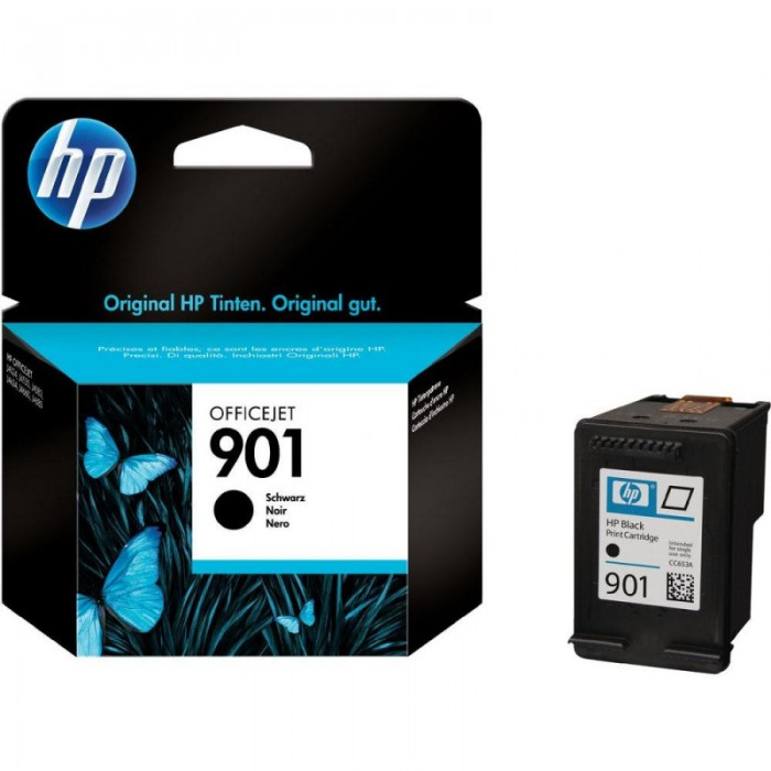 Cartus cerneala Original HP Black 901, compatibil OfficeJet 4500/J4524/4580/4624/4640/4660/4680, 200pag  0