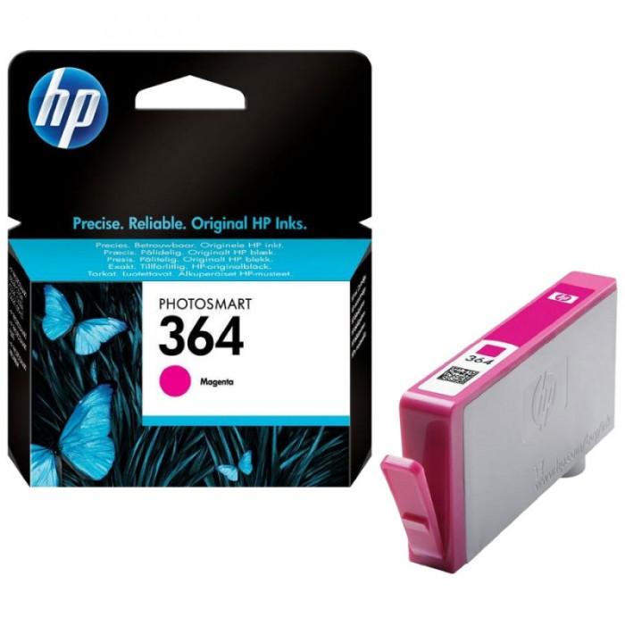 Cartus cerneala Original HP Magenta 364 w.Vivera ink, compatibil PhotoSmart 7510/C5380/6380/D5460/7560, 300pag  0
