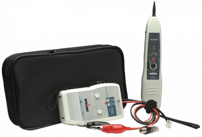 Tester cablu cu generator de tonuri - Net Toner and Probe Kit, Beige, Retail Box  0