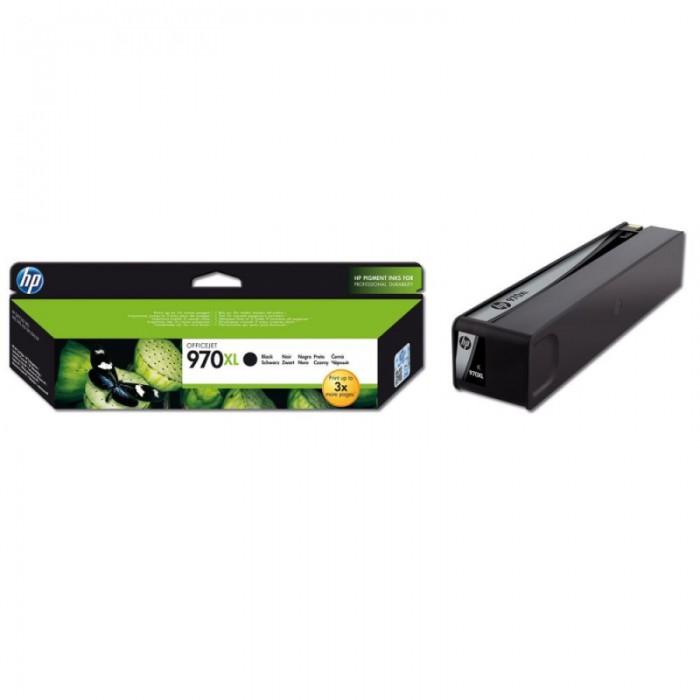 Cartus cerneala Original HP Black 970XL, compatibil OfficeJet X476/576/451/551, 9200pag  [0]