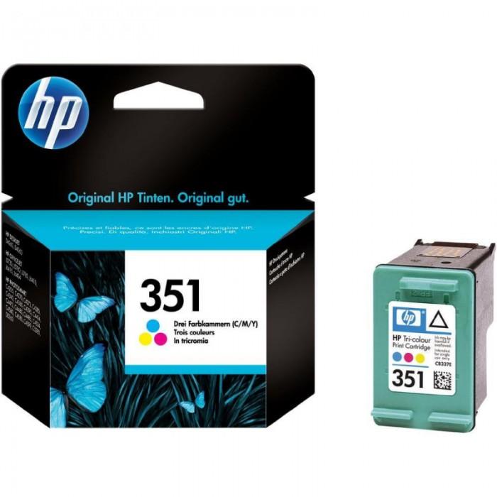 Cartus cerneala Original HP Tri-color 351 w.Vivera ink, compatibil DJ D4260/4360/J5730/5780/6480/PS C4205/4272/4280/4480/5280, 3.5ml  [0]