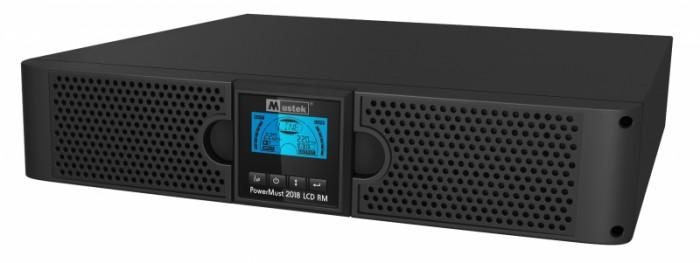 UPS MUSTEK. PowerMust  2018 online LCD RM (2KVA), IEC  [0]