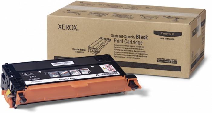 Toner Original pentru Xerox Negru, compatibil Phaser 6180/6180MFP, 3000pag  [0]
