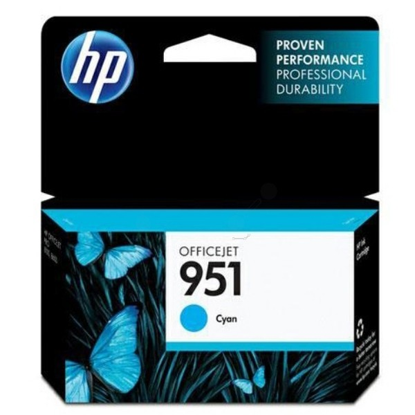 Cartus cerneala Original HP Cyan 951, compatibil OfficeJet Pro 251/276/8100/8600, 700pag  0
