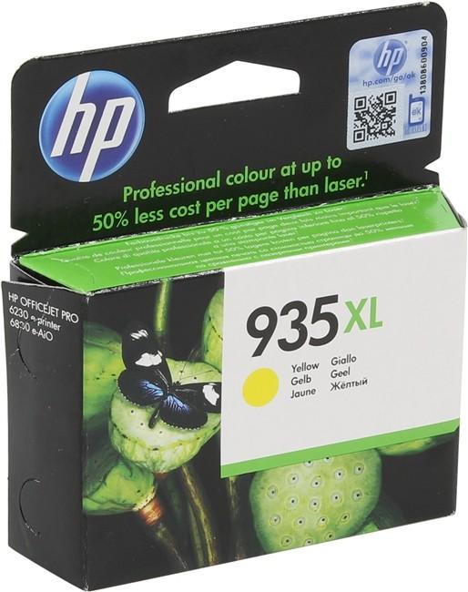 Cartus cerneala Original HP Yellow 935XL, compatibil OfficeJet Pro 6830, 825pag  [0]