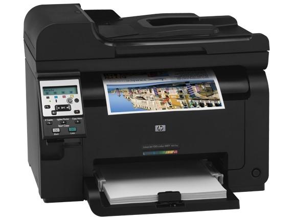 Imprimanta Multifunctionala Laser Color HP MFP 175a  0