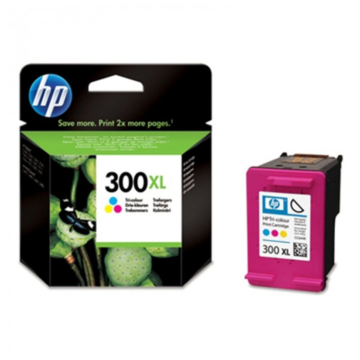 Cartus cerneala Original HP Tri-color 300XL w.Vivera ink, compatibil DJ D2530/2560/2660/5560/F2420/2480/4280/PS C4680/4780, 440pag  [0]
