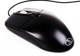 Mouse A4tech PS2 optic Black , wired cu 2 butoane si 1 rotita scroll, rezolutie 800dpi 0