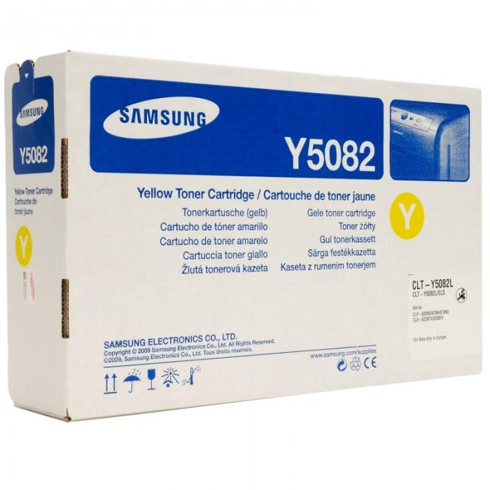 Toner Original pentru Samsung Yellow, compatibil CLP-620/670, 4000pag (CLT-M5082L/ELS) [0]