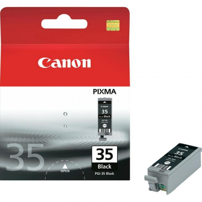 Cartus cerneala Original Canon PGI-35BK Negru, compatibil iP100  0