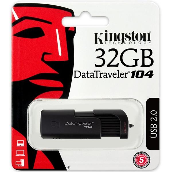 KINGSTON 32GB USB 2.0 DataTraveler 104 1