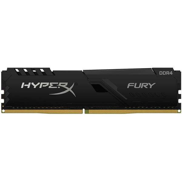 Kingston DRAM 16GB 2666MHz DDR4 CL16 DIMM HyperX FURY Black EAN: 740617308501 0