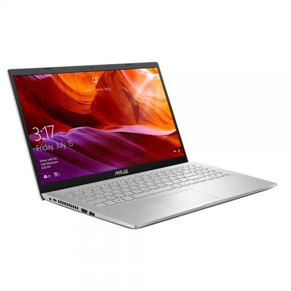 Laptop ASUS X509FJ-EJ046, 15.6 FHD (1920X1080), Anti-Glare (mat), Intel Core i5-8265U, video dedicat NVIDIA GeForce MX230 2GB GDDR5, RAM 8GB DDR4 2400Mhz, HDD 1TB 5400RMP + slot M.2, NO ODD, Endless O 1