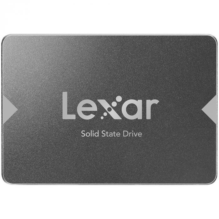 """LEXAR NS100 512GB SSD, 2.5"""", SATA (6Gb/s), up to 550MB/s Read and 450 MB/s write 0"""