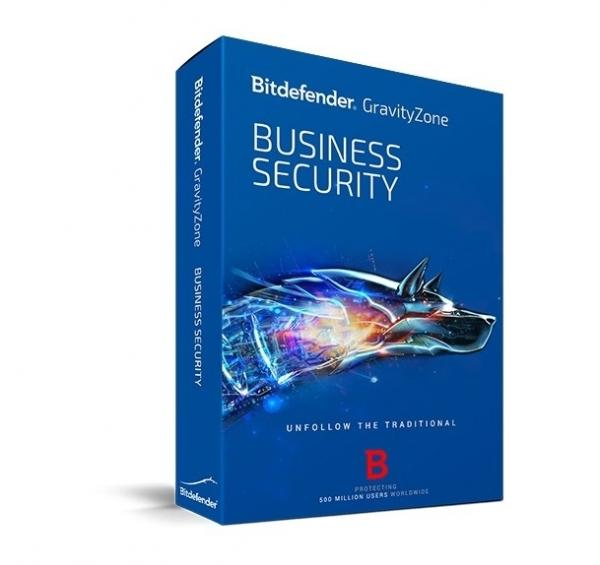 Licenta Securitate business Antivirus Bitdefender GravityZone Business Security, 5 useri, 1 an, electronic 0