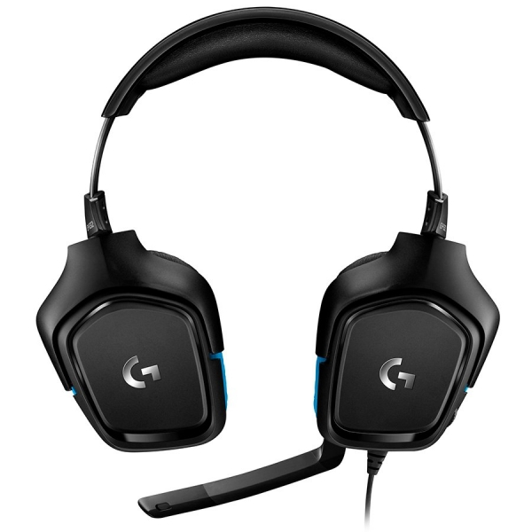 "LOGITECH G432 7.1 Surround Sound Wired Gaming Headset - LEATHERETTE - USB - EMEA ""981-000770"" 1"